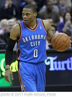 'Russell Westbrook' photo (c) 2011, Keith Allison - license: http://creativecommons.org/licenses/by-sa/2.0/