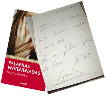 firma palabras