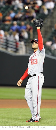 'Washington Nationals relief pitcher Henry Rodriguez (63)' photo (c) 2011, Keith Allison - license: http://creativecommons.org/licenses/by-sa/2.0/