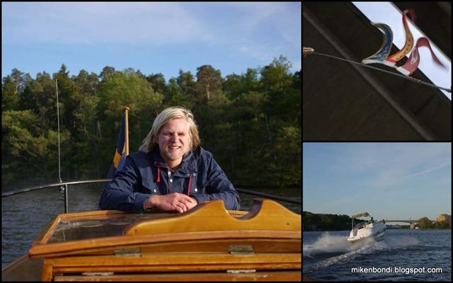 Stockholm boat cruise