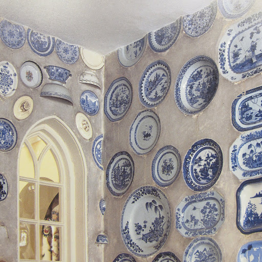 Here is a close-up of this amazing use of ceramics.