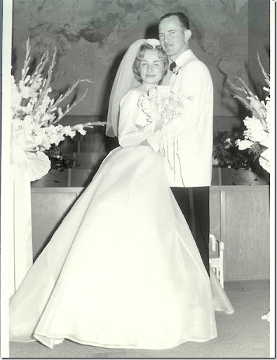 Don and Gail Flaming Wedding - 24 August 1962 - 1