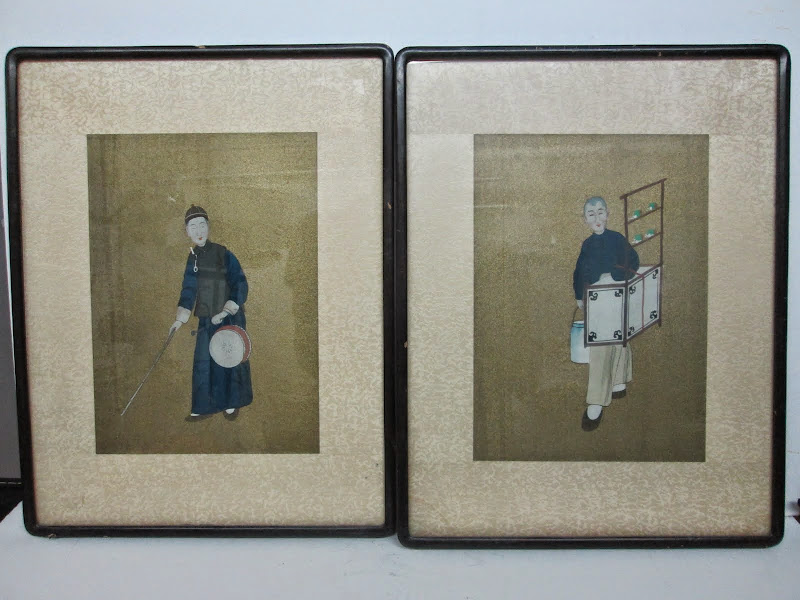 Asian Painting Pair