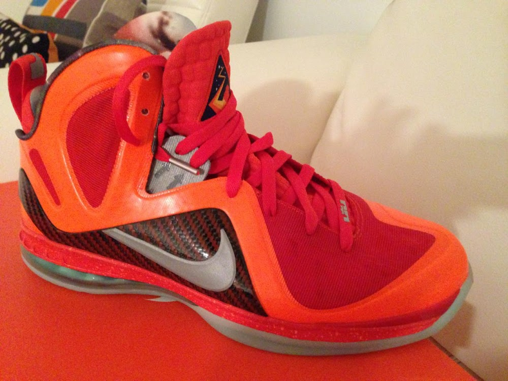 all red lebron 10
