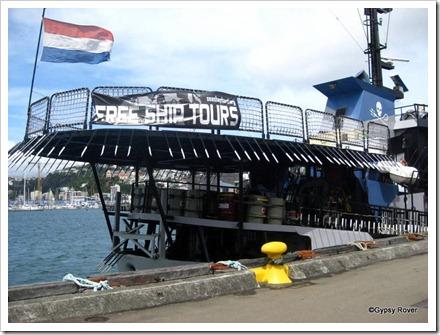 Sea Shepherd Whale protection vessel