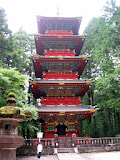 Gojunto, a five storied pagoda, is part of the Tishu-go shrine