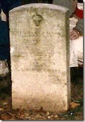 William L Redles grave cropped