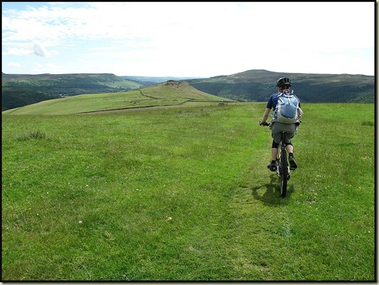 Heading along the ridge towards Crook Hill