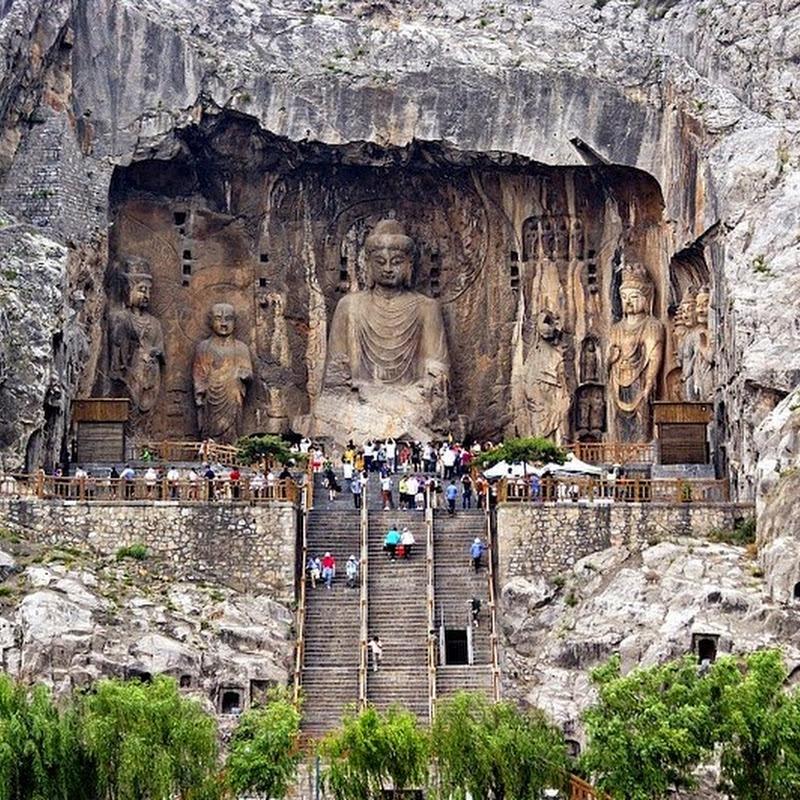 Longmen Grottoes, China