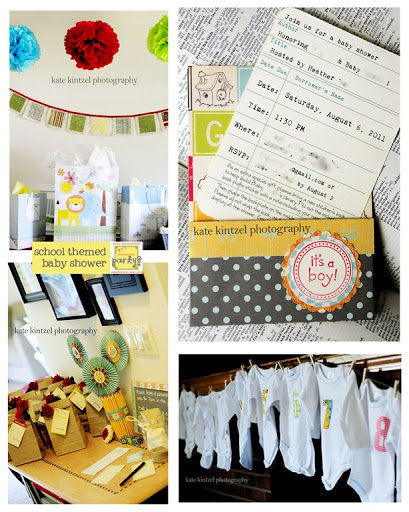 School Theme Baby Shower Hope you've been enjoying the posts so far