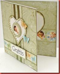 Grönt baby kort (2)