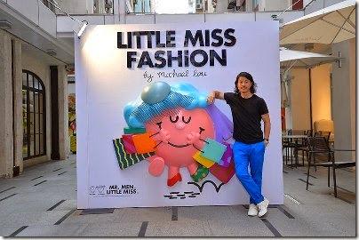 Michael Lau X Mr. Men & Little Miss - A Walk in Fashion Walk via adaymag.com 01