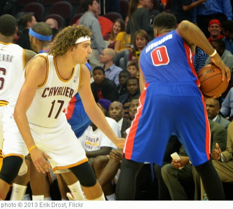 'Anderson Varejao and Andre Drummond' photo (c) 2013, Erik Drost - license: https://creativecommons.org/licenses/by/2.0/