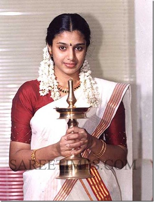Samyuktha_Varma_Kerala_Saree