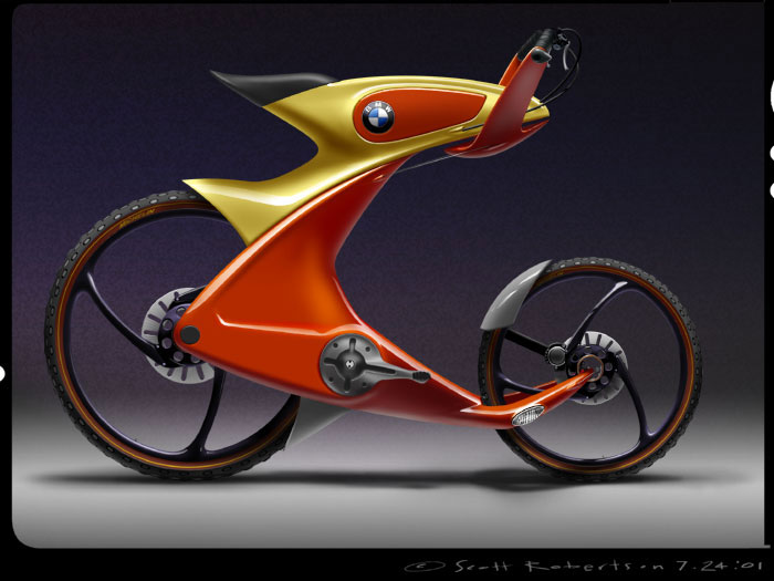 BMW Bycycles: Just when you thought you can't do anymore innovation with a Bicycle