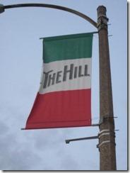 the hill light post flag