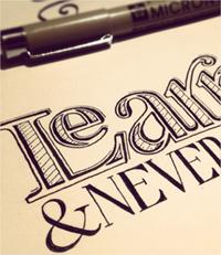 citas de frases ideales para apreciar la tipografía hecha a mano