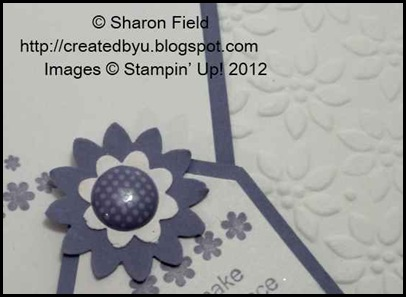 lots of fun with this stamp set, embossing folder and boho blossom punch@!