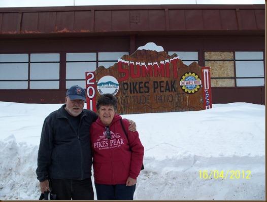 Mom and Chuck