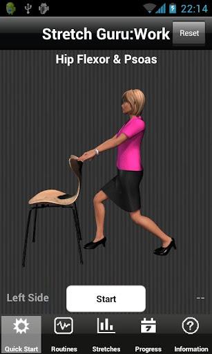 Stretch Guru:Work