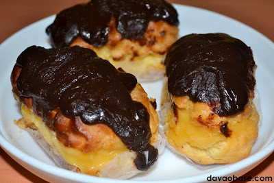 Delectable eclairs from Charlie's Bakeshop