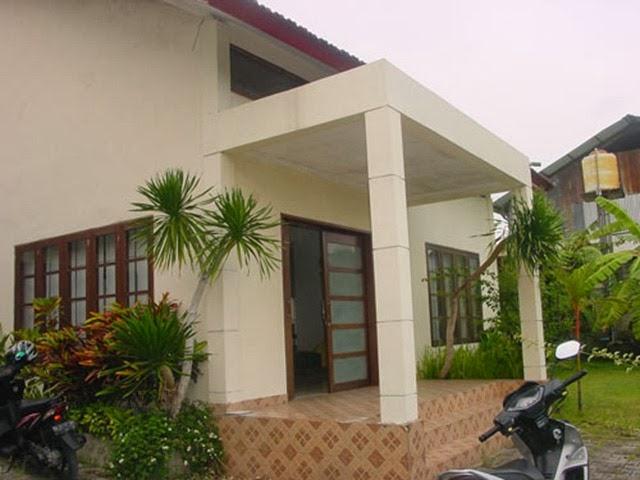 contoh teras rumah sederhana