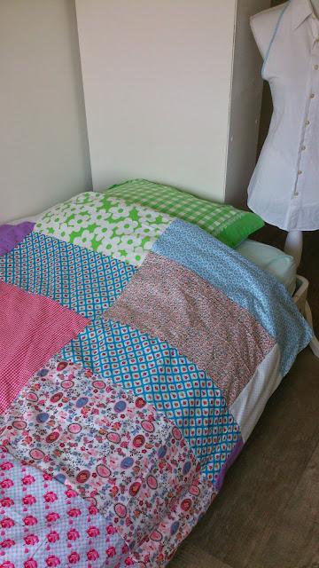 patchwork dekbedovertrek
