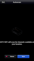 Screenshot of iDTV WiFi