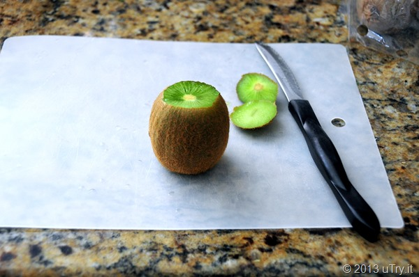 How To cut and peel a Kiwi