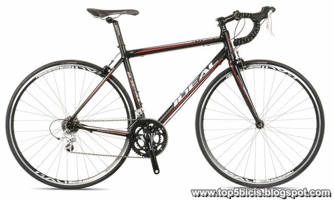 top 5 bicicletas de carretera  ideal intempo