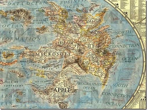 Mapa Mundi del internet 5