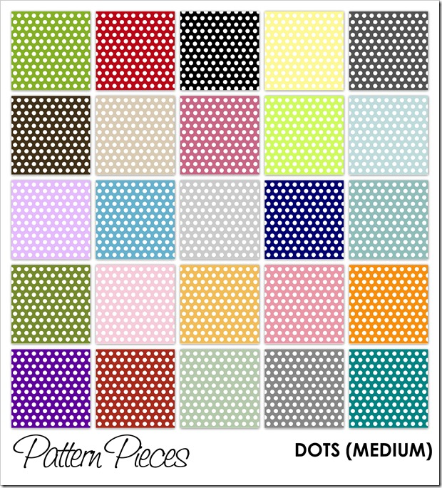 IMAGE - Pattern Pieces - Dots (Medium)