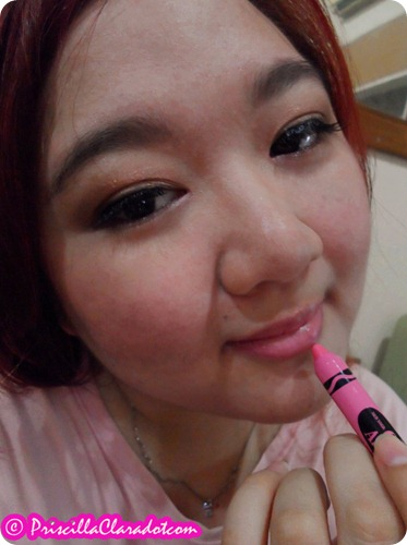 Priscilla review Too Cool For School lip crayon1