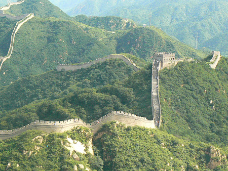 Sights of China: Great Wall in Badaling