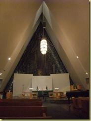 Tromso Cathederal Inside