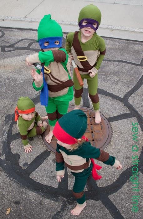 TMNT Teenage Mutant Ninja Turtles Costume sew a straight line-8-2