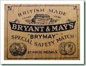 B&amp;M matches