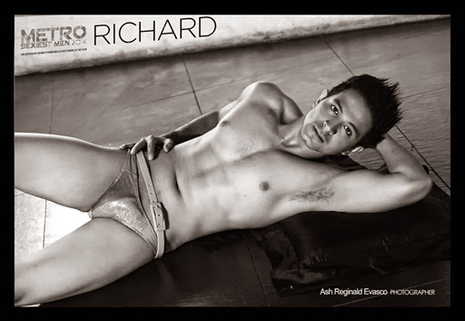 Metro Sexiest Men Richard