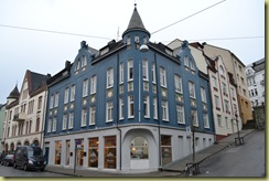 Alesund Building Blue