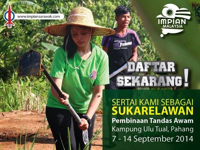 Drama Terbaru DAP Bina Tandas Awam Di Kampung Ulu Tual Pahang