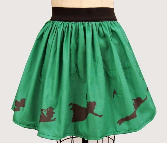 Peter Pan Neverland Skirt from Go Follow Rabbits