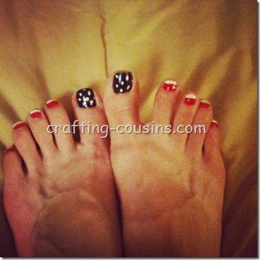 Patriotic Toes