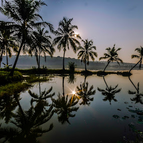 REFLECTIONS by Neelakantan Iyer - Landscapes Waterscapes (  )
