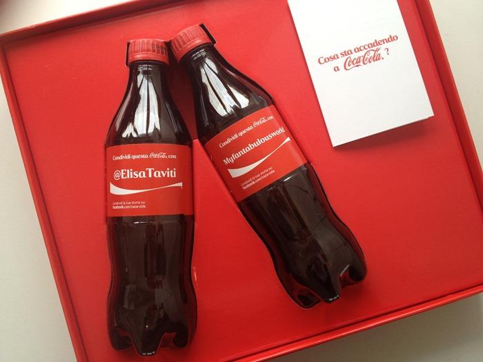 Coca Cola, Coca cola personalizzata, condividi una coca cola, condividiunacocacola, bottiglietta coca cola