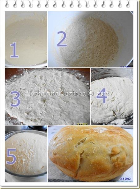 Pão sem Sovar ou No Knead Bread
