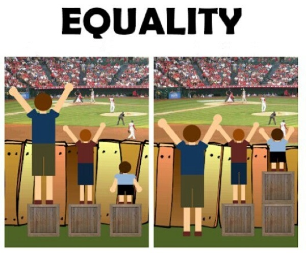 Equality Illustration