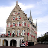 gouda townhall at huis ten bosch in Sasebo, Nagasaki, Japan