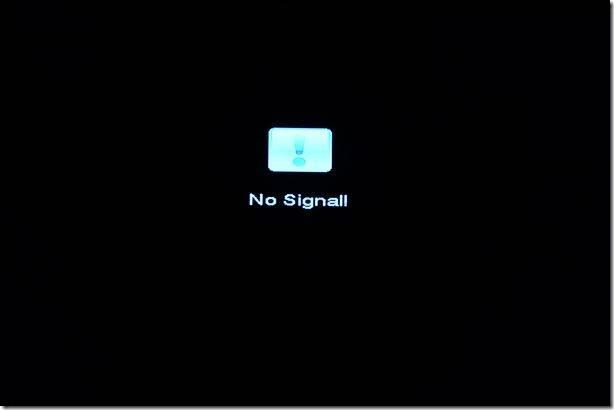 No Signal!