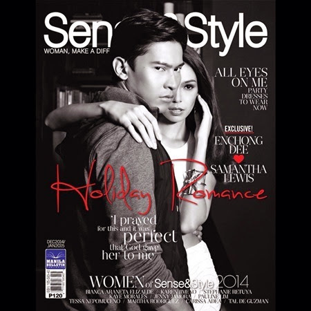 Enchong Dee and Samantha Lewis - Sense and Style Dec 2014