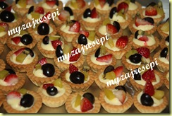 Fruits cheese tart 010